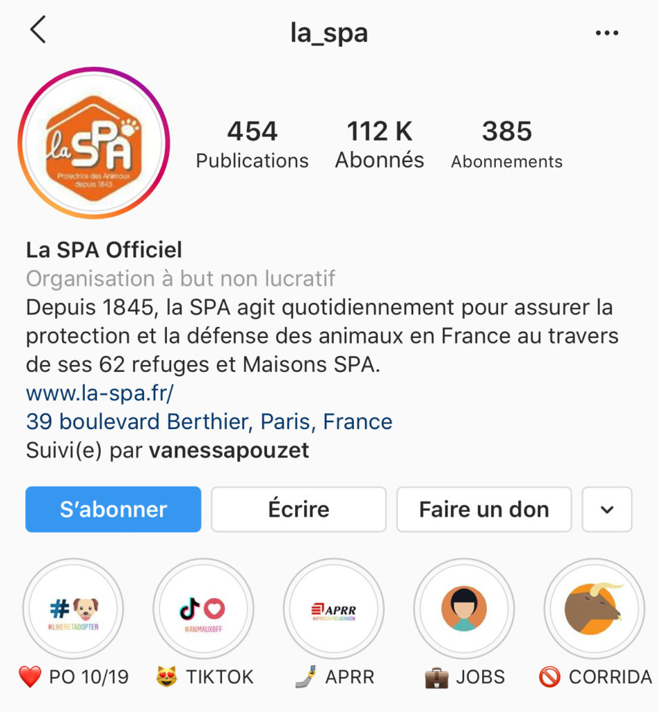 spa instagram